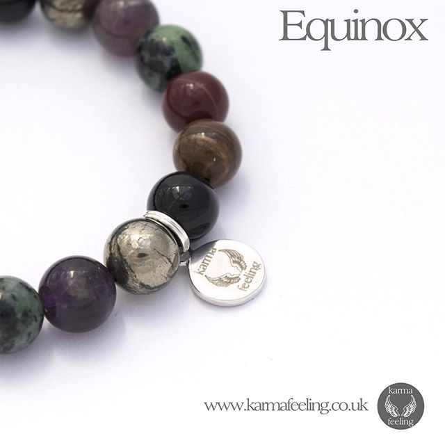 Spring equinox is finally here! Welcome to light nights and warmer weather. We thought we'd post a pic of our equinox bracelet to celebrate ️ #equinox #spirituality #magic #psychic #love #gothic #gothgirl #spring #summertime #lightnight #crystalhealing #crystalbracelet #crueltyfree #jewellery #yoga #yogagifts #yogaaddict #raiseyourvibration #karma #happyme #grateful #grounding #gratitude #meditation #reiki #fitspo #fitness #healthy