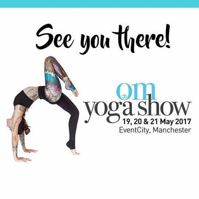 So this is where we'll be this weekend, are you? #vinyasaflow #vegan #raiseyourvibration #reiki #ayurveda #ayurvedic #boss #bohochic #bracelet #bhaktiyoga #chakra #crystals #dosha #eventcity #fitspo #fitness #grateful #healthy #healing #kundalini #kapha #mensyoga #meditation #manchester #yoga #yogagram #yogashow