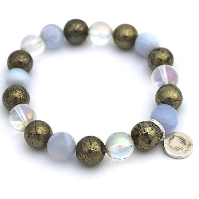 Summer holiday season is here. Our Serenity bracelet is designed with calming crystals and looks AMAZING with a tan!!  #raiseyourvibration #yoga #yogaaddict #magic #calming #anxiety #boss #beach #bohochic #bracelet #crystals #ethicalfashion #fitspo #fashion #fitness #gifts #grateful #gothgirl #happy #healthy #jewellery #meditation #spirituality #summer #holiday #holidayfashion #serenity
