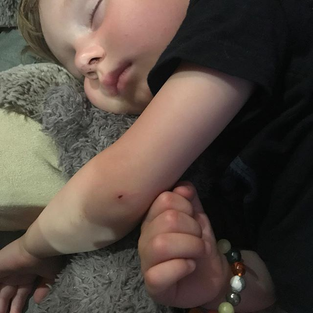 My toddler insisted on designing his own bracelet tonight (I stuck a calming crystal or two in it) and he refused to take it off at bedtime  #yogaaddict #yoga #shopsmall #reiki #anxiety #boss #bohochic #bracelet #chakra #calming #crystals #toddlerfashion #toddler #family #fitness #fashion #gothgirl #grateful #happy #healthy #indigochild #jewellery #magic #meditation #namaste #raiseyourvibration #rainbowchild
